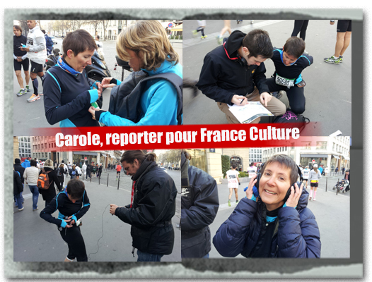 France Culture, marathon de Paris 2