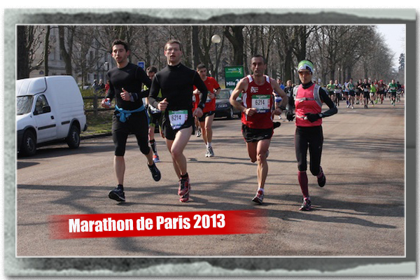 Marathon de Paris Run Reporter Run 1